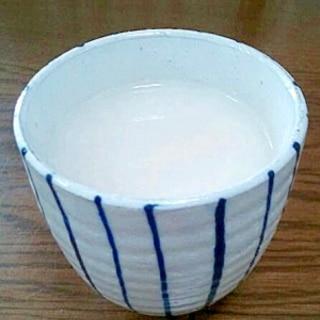 米糀の甘酒と酒粕とハーフ&ハーフの甘酒