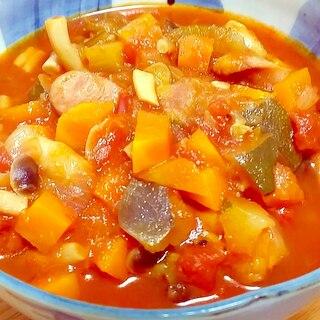 圧力鍋で煮込むだけ♪野菜たっぷりラタトゥイユ☆