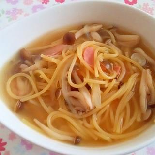 楽ちんスープパスタ++