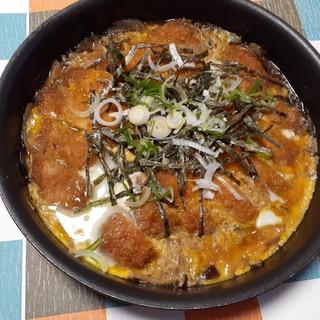めんつゆで簡単!煮かつ、カツ丼!