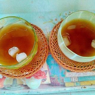 さっぱり☆梅酢麦茶