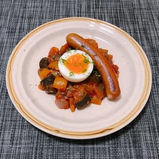 夏野菜のラタトゥイユ!簡単煮込むだけ