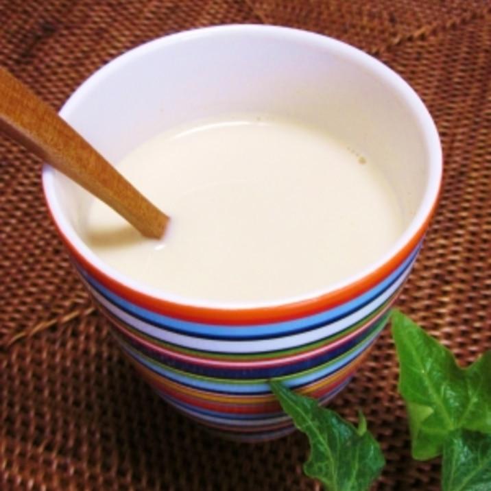 ホットな!! 豆乳きな粉ドリンク♪