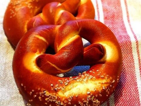 本格ドイツパンのプレッツェル!