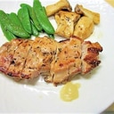 鶏もも肉の塩麴ソテー(レモンペースト添え)