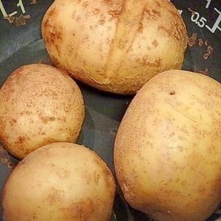 炊飯器におまかせ★蒸かし芋