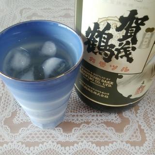 日本酒と梅シロップで♡梅酒♡