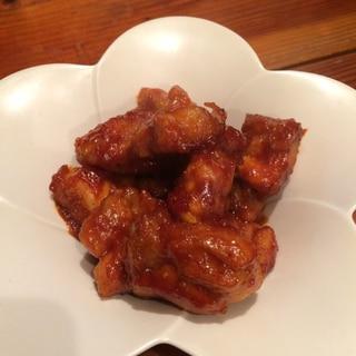韓国料理!むね肉活用のヤンニョムチキン