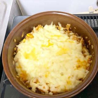 韓国♡あつあつコーンチーズご飯