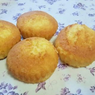 ホットケーキミックスとトースターで簡単カップケーキ
