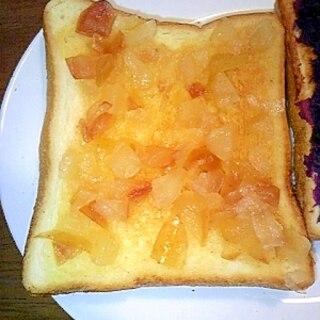 アップルパイのようなりんごジャムトースト