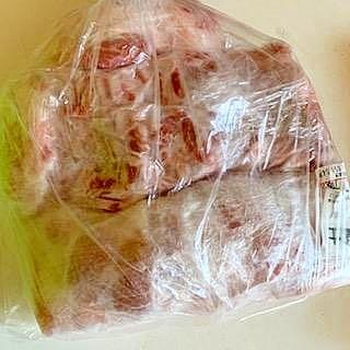 豚バラブロック ☆ 冷凍保存