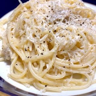 材料は3つ!超シンプルなパスタ★カチョ・エ・ペペ★