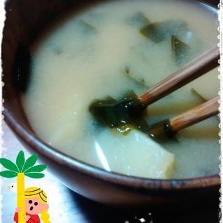 ジャガイモほくほく♡秋にピッタリお味噌汁