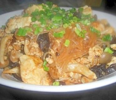 麻婆春雨豆腐