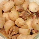 味付け簡単★いわし缶と里芋の煮物