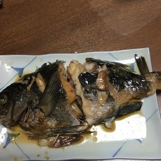 黒鯛の煮付け
