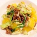 【レトルト活用】鶏の炭火焼きでイタリアン肉野菜炒め