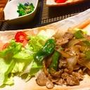 簡単3ステップ☆豚肉とピーマンのマヨぽん炒め