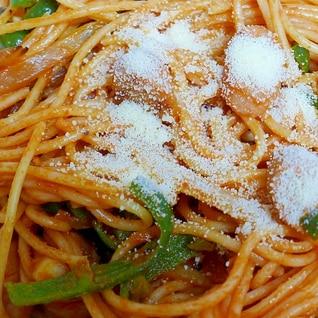 簡単&定番♪ナポリタンスパゲッティ
