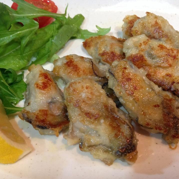 バター ソテー 牡蠣