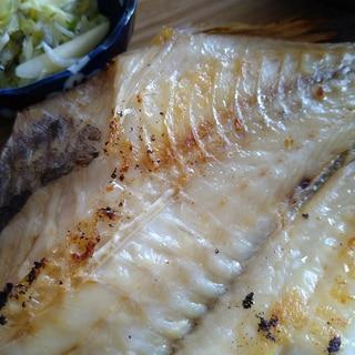 赤魚の干物の焼き方(フライパン)