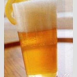 炭酸飲料とビールを半々パナシェ♪