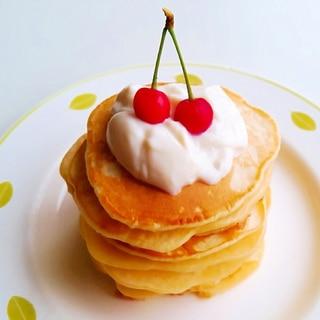 サクランボヨーグルトパンケーキ