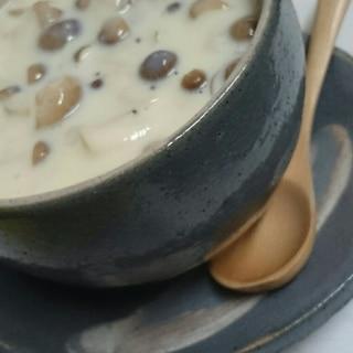キャンベルクラムチャウダー 豆乳バージョン