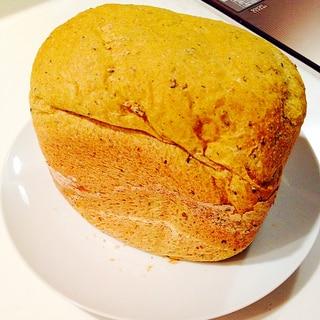 離乳食☆皮ごと入れたカボチャ入りのグラハムパン