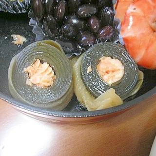 圧力鍋で鮭の昆布巻き♪