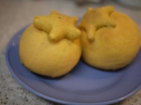 トマト☆バジル パン