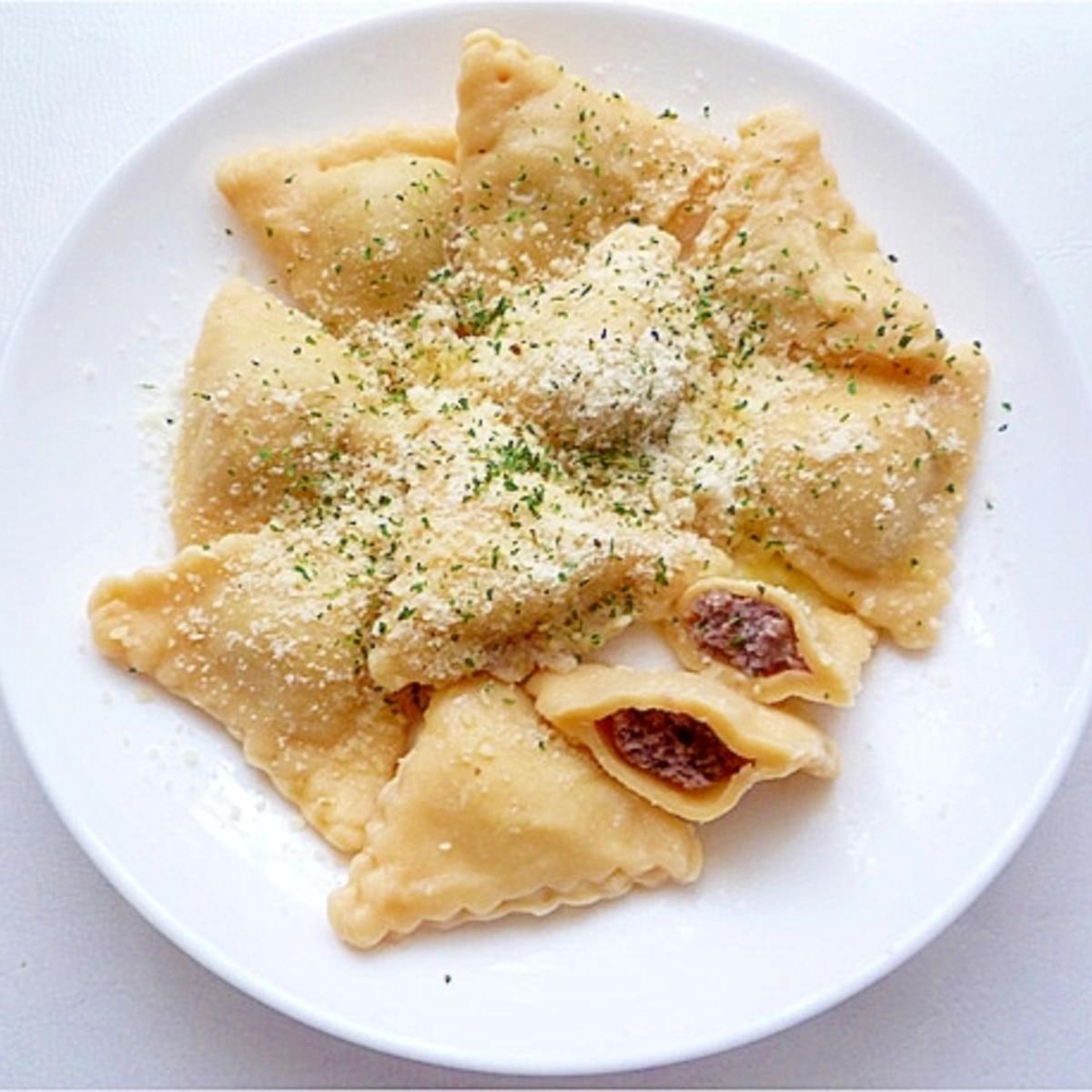 レシピ ラビオリ