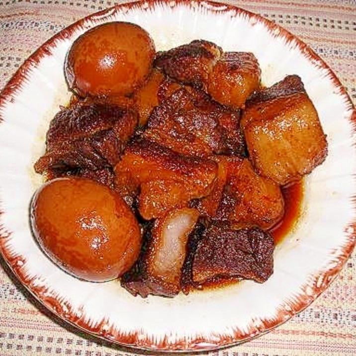炊飯器でこってり柔らか豚の角煮