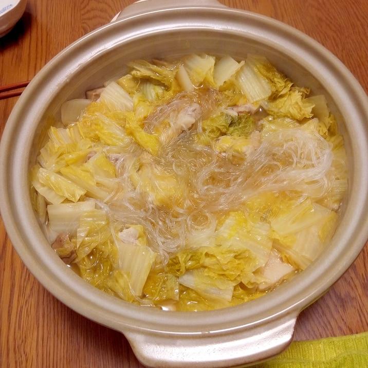 ピェンロー鍋(妹尾河童さんのレシピベース)
