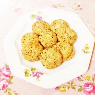 紅茶風味♪ビスケット風サクサク米粉クッキー