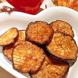 とろ〜り♥米茄子の照り焼きステーキ♪
