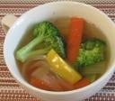 ブロッコリーと玉ねぎの中華スープ