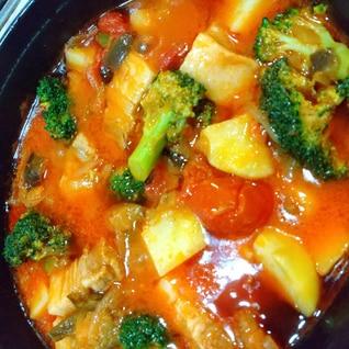 豚バラと野菜たっぷりトマト煮込み♪