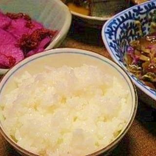 圧力鍋で炊飯☆2合のご飯