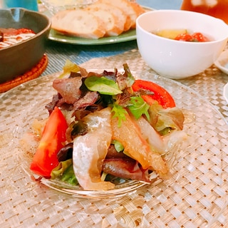 簡単♡真鯛のカルパッチョ