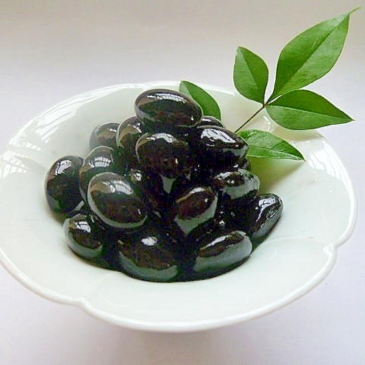 黒豆の煮方