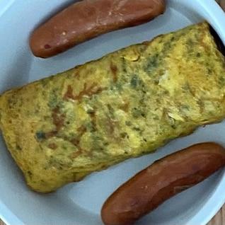 青のりの卵焼き