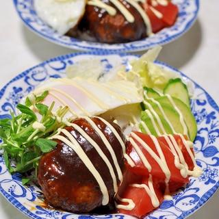 ロコモコ風ワンプレートご飯