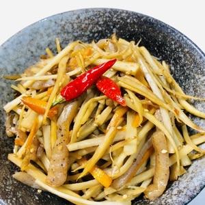 ピリ辛☆ごぼうとコンニャクの炒め煮
