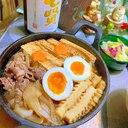 名古屋風( ´∀` )新玉葱と角麸のおつまみ肉豆腐