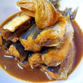 骨ごと食べられるイワシの生姜煮