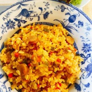 フライパン15分炊きジャンバラヤ