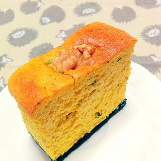 とろしゅわ*南瓜の生スフレチーズケーキ