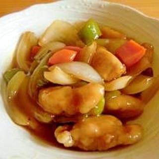 ☆黄金比率の中華甘酢で作る酢豚☆